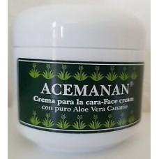 Acemanan - Aloe Vera Crema Facial Gesichtscreme 50ml hergestellt auf Gran Canaria - LAGERWARE