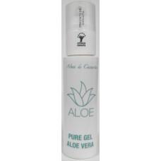 Alma de Canarias - Gel Puro Aloe Vera 99,7% 100ml Pumpflasche hergestellt auf Lanzarote - LAGERWARE
