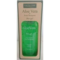 Cactus Care - Aloe Vera Bio-Gel Aloe Vera & Rosa Mosqueta 300ml hergestellt auf Gran Canaria - LAGERWARE