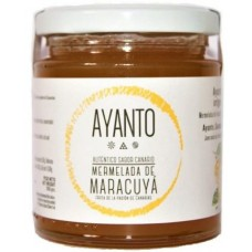 Ayanto - Mermelada de Maracuya Maracuja-Marmelade 250g Glas hergestellt auf La Palma - LAGERWARE