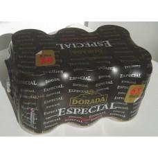 Dorada - Especial Original Extra Cerveza Bier 5,7% Vol. 6x 330ml Dose hergestellt auf Teneriffa - LAGERWARE