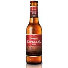 Dorada - Especial Roja Bier 6,5% Vol. 330ml Glasflasche hergestellt auf Teneriffa - LAGERWARE