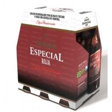 Dorada - Especial Roja Cerveza Bier 6,5% Vol. 6x 250ml Glasflaschen hergestellt auf Teneriffa - LAGERWARE
