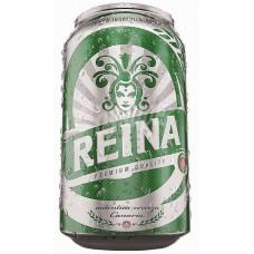 Reina - Cerveza Premium Bier 5% Vol. 330ml Dose hergestellt auf Teneriffa - LAGERWARE
