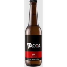 Tacoa - IPA Cerveza Craft Beer IBU 45 6,9% Vol. Bier Flasche 330ml hergestellt auf Teneriffa - LAGERWARE