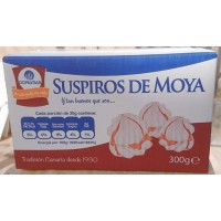 Doramas - Bizcochos de Moya Suspiros 300g Karton hergestellt auf Gran Canaria - LAGERWARE