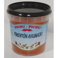Pichu Pichu - Pimenton ahumado molido Paprikagewürz gemahlen geräuchert 80g Becher hergestellt auf Gran Canaria - LAGERWARE