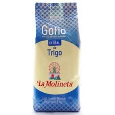 Gofio La Molineta - Gofio de Trigo Tueste normal Weizenmehl geröstet 1kg hergestellt auf Teneriffa - LAGERWARE
