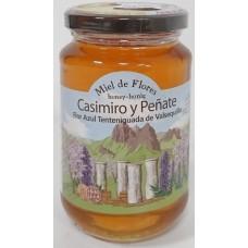 Casimiro y Penate - Miel de Flores Flor Azul Honig blaue Blüten 500g Glas hergestellt auf Gran Canaria - LAGERWARE