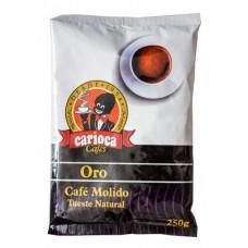 Carioca - Cafe Oro Molido Tueste Natural Röstkaffee gemahlen 250g Tüte hergestellt auf Teneriffa - LAGERWARE