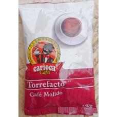 Carioca - Cafe Torrefacto Molido Röstkaffee gemahlen 250g Tüte hergestellt auf Teneriffa - LAGERWARE