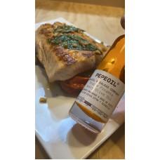 Pepeoil - Triple Picante Ghost Pepper Chili-Olivenöl geschmacksneutral extra scharf 50ml hergestellt auf Gran Canaria - LAGERWARE