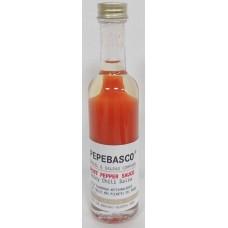 Pepeoil - Pepebasco Red Ghost Pepper Sauce extrem scharfes Tabasco-Würzöl 20.000 SHU 50ml hergestellt auf Gran Canaria - LAGERWARE