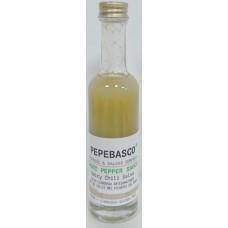Pepeoil - Pepebasco Verde Ghost Pepper Sauce extrem scharfes Tabasco-Würzöl 20.000 SHU 50ml hergestellt auf Gran Canaria - LAGERWARE