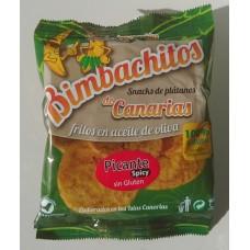 Bimbachitos de Canarias - Picante Spicy Bananenchips pikant 90g hergestellt auf El Hierro - LAGERWARE