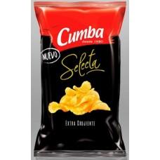 Cumba - Selecta Chips Extra Crujiente Papas Fritas Kartoffelchips 120g hergestellt auf Gran Canaria - LAGERWARE