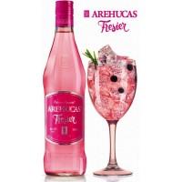 Arehucas - Fresier Ron Blanco Fresa Rum Erdbeergeschmack 37,5% Vol. 700ml hergestellt auf Gran Canaria - LAGERWARE