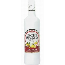 Arehucas - Licor Leche Rizada Cremelikör Zitrone-Zimt 17% Vol. 700ml hergestellt auf Gran Canaria - LAGERWARE