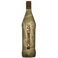 Arehucas - Licor Ron Caramelo Karamell-Likör auf Rumbasis 24% Vol. 700ml hergestellt auf Gran Canaria - LAGERWARE