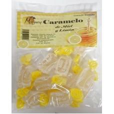 Valsabor - Maguey Caramelo de Miel y Limon Honig-Zitronen-Bonbons 10 Stück hergestellt auf Gran Canaria - LAGERWARE
