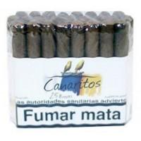 Canaritos - Brevas Puros 25 Stück Zigarren hergestellt auf Teneriffa - LAGERWARE