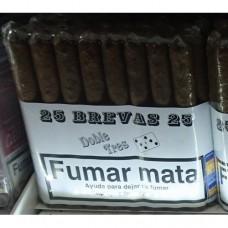 Doble Tres Brevas 25 Puros Zigarren 25 Stück hergestellt auf Gran Canaria - LAGERWARE