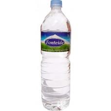 Fonteide - Agua Mineral Natural Mineralwasser ohne Kohlensäure 1,5l PET-Flasche hergestellt auf Teneriffa - LAGERWARE