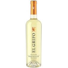 Bodega El Grifo - Vino Blanco Malvasia Coleccion Semi-Dulce Weißwein halbtrocken 12,5% Vol. 750ml hergestellt auf Lanzarote - LAGERWARE