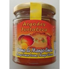 Argodey Fortaleza - Confitura Crema de Mango-Limon Konfitüre 200g hergestellt auf Teneriffa - LAGERWARE