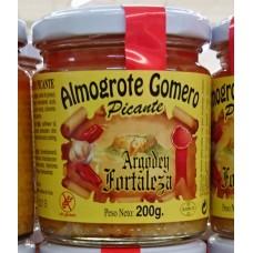 Argodey Fortaleza - Almogrote Gomero Picante Kanarische Hartkäsepaste würzig 200g hergestellt auf Teneriffa - LAGERWARE