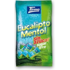 Tirma -  Eucalipto Mentol Eukalyptus-Bonbons 500g Tüte hergestellt auf Gran Canaria - LAGERWARE