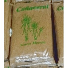Canaveral Canarias - Azucar Moreno brauner Rohrzucker 1kg Tüte hergestellt auf Gran Canaria - LAGERWARE